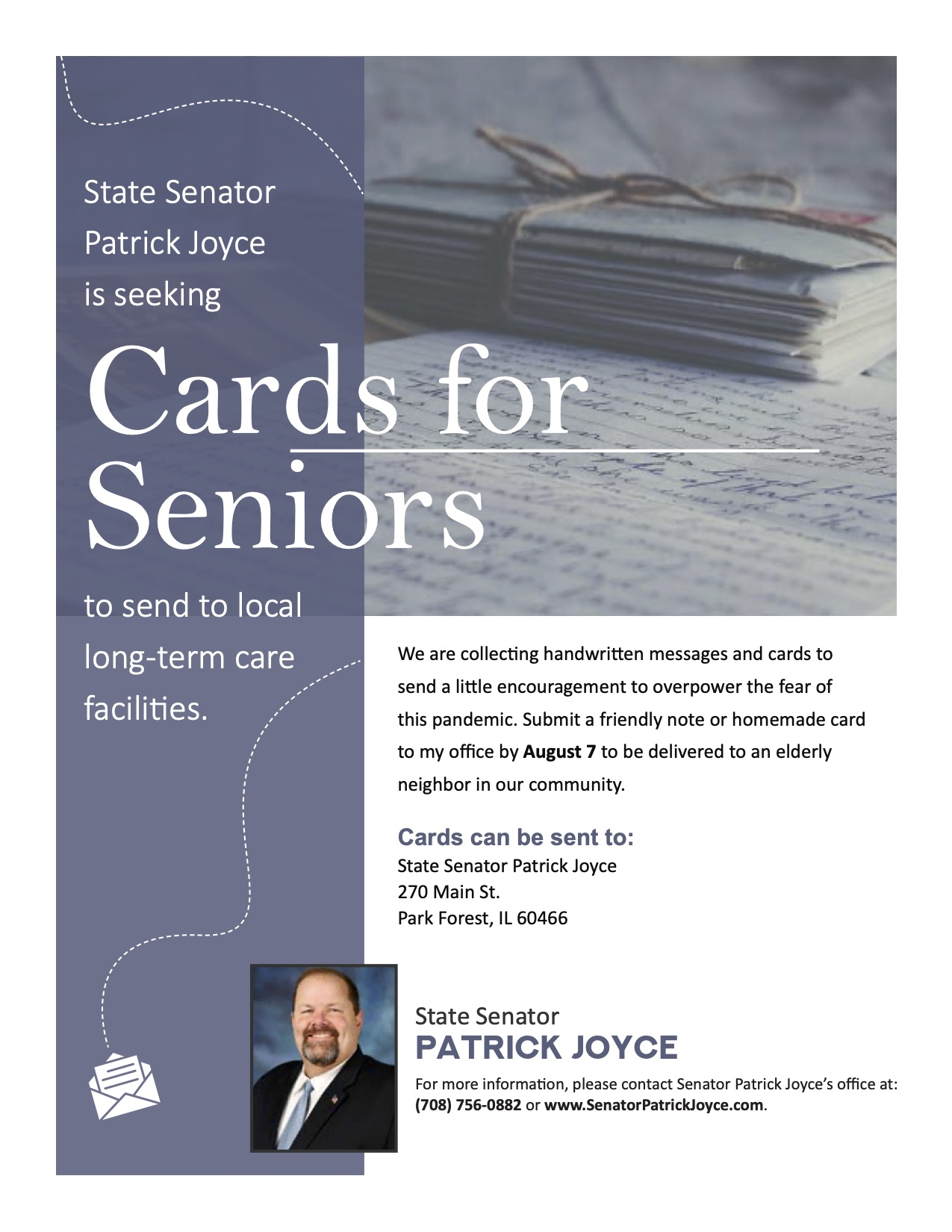 Joyce Cards for Seniors